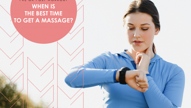 The Real Benefits of Massage Before and After A Workout